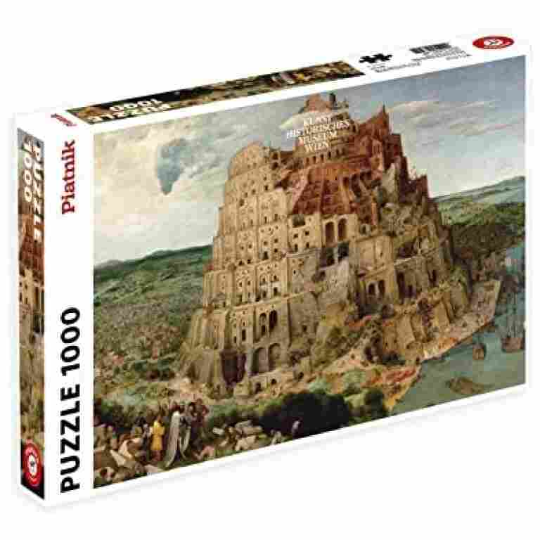 Puzzle - Bruegel - The Tower of Babel (1000pc)