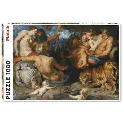 Puzzle - Rubens 4 Continents (1000pc)